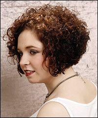 Короткая стрижка для вьющихся волос :: Локон - прически, стрижки, укладки