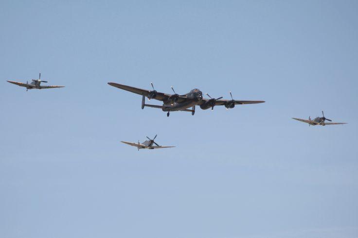 Lancaster Spitfires