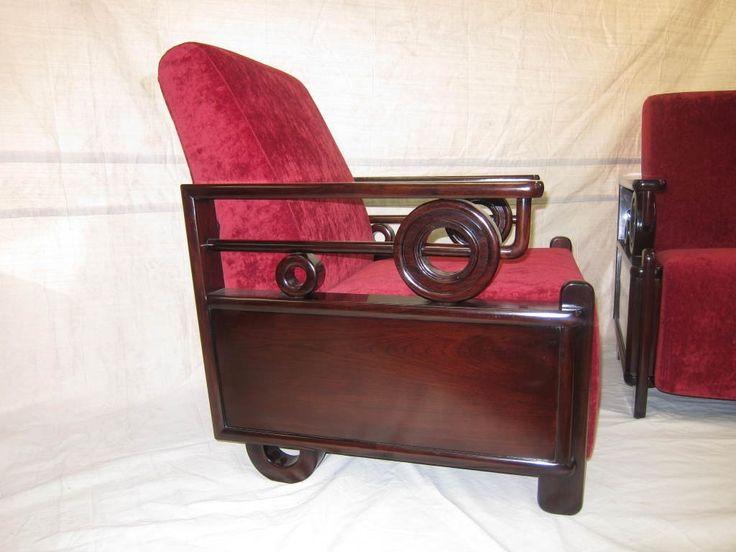 Art Deco Club Chairs 2