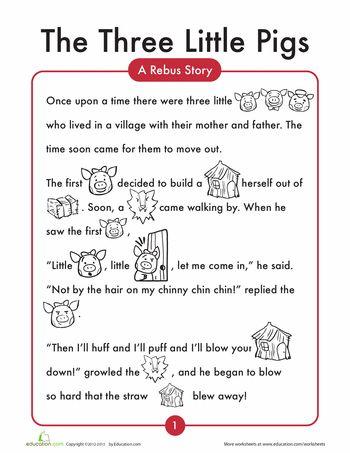 English Worksheets For Grade 1 Reading : Best 25 short stories for kids ideas on pinterest english short