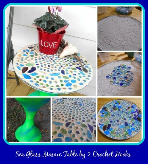 Hey everyone! Millie here Today we are sharing the DIY on this lovely Sea Glass Mosaic table we have created! I love the beachy colors and hope you will to! Unfortunately there were some problems in the creation of this table but lessons learned are always good!  For the full details and picture heavy tutorial, …