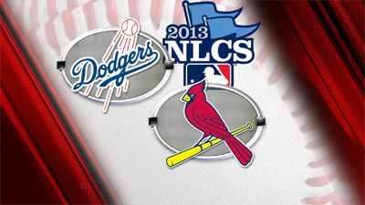 Game times announced for Cards vs. Dodgers NLCS Series