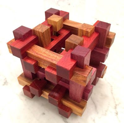 Jerry's Mechanical Puzzle Collection: Visible Burr