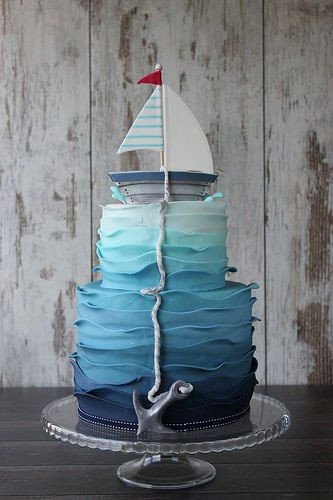 Only one word for ombre & nautical...awesome!!