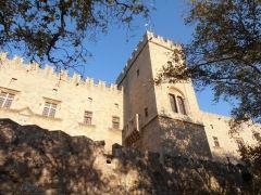 Palác velmistrů - město Rhodos