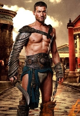 Andy Whitfield as Spartacus...after he died it wasnt the same...RIP