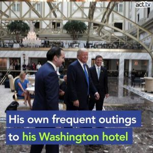 The American presidency isnt supposed to be a get rich quick scheme. Sign and support the No TRUMP #news #alternativenews