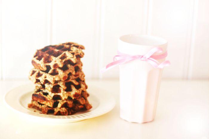 oppskrift: sunne belgiske vaffler - KRISTINE