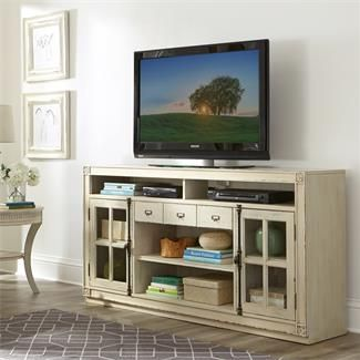 Riverside 10242 Huntleigh Entertainment Console Discount Furniture At  Hickory Park Furniture Galleries