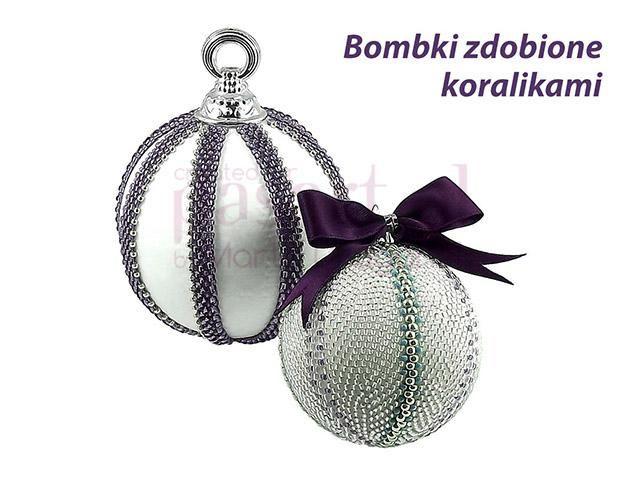 beaded Christmas ornament brugs anvisning på hjemmesidden