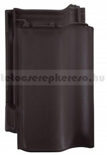 Bramac Rubin 9V kerámia matt, engóbozott antracit tetőcserép akciós áron a tetocserepkereso.hu ajánlatában