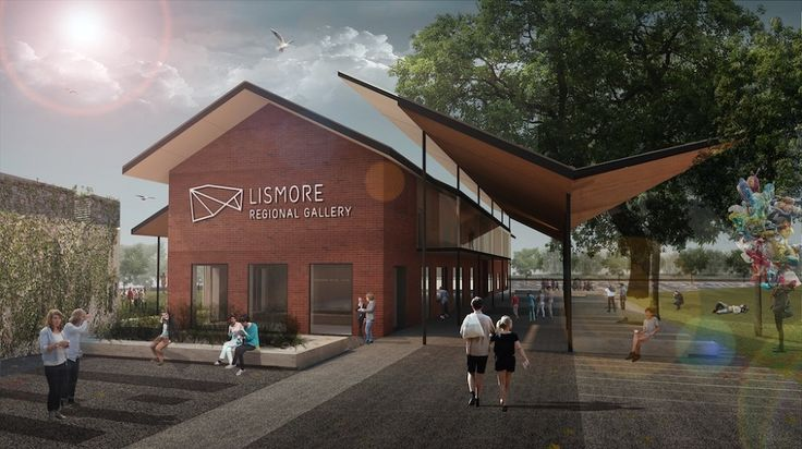LISMORE REGIONAL GALLERY - Dominic Finlay Jones Architects