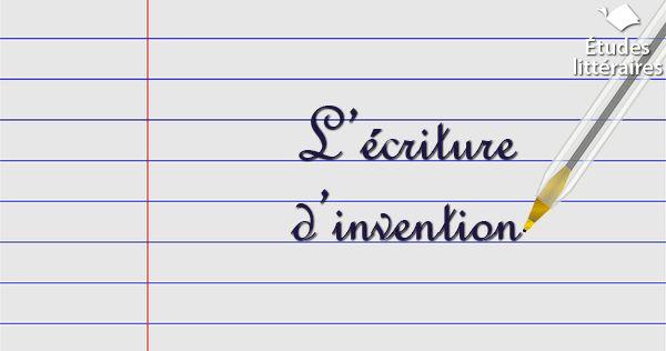 Le sujet d'invention au bac de français