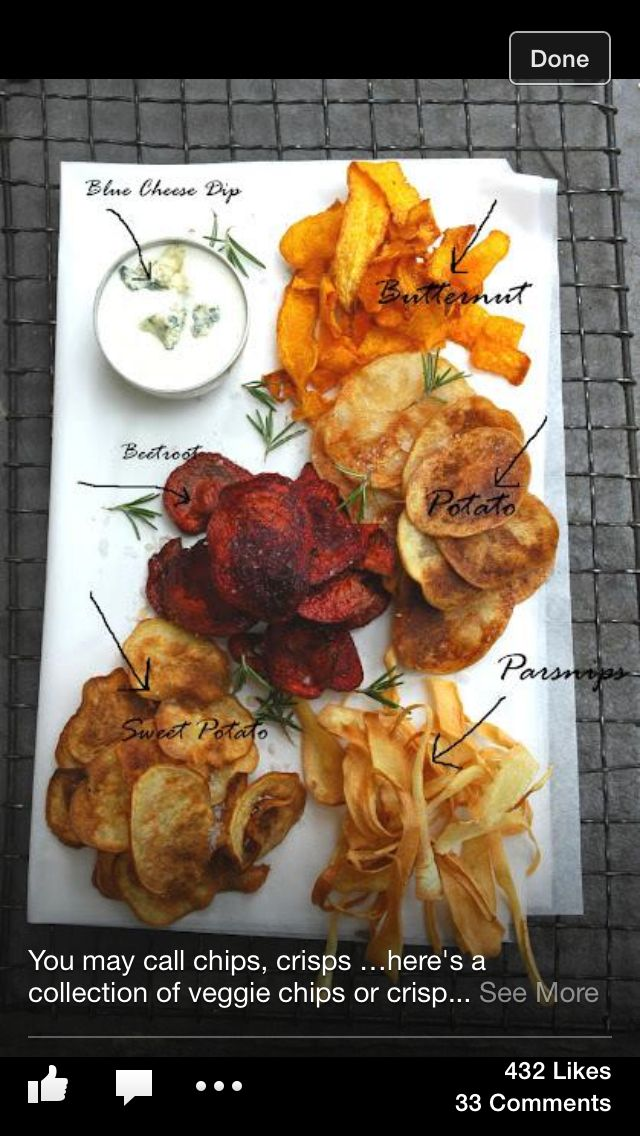 Healthier chips. Need an air fryer