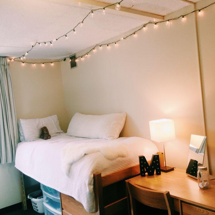 My Minimalist Dorm Room In 2019