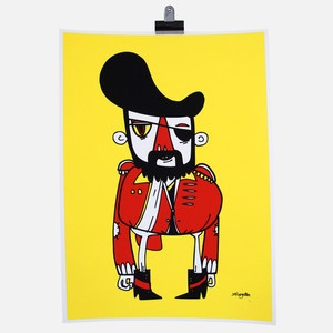 Pirate Print now featured on Fab.