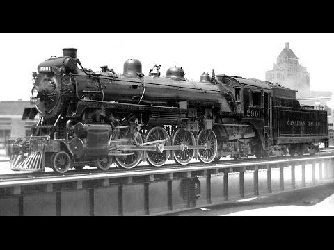 (26) The Story Of The Canadian Pacific Railway - YouTube