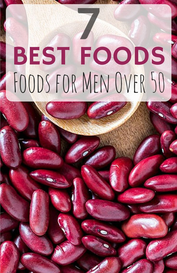 Here are seven of the best foods men over age 50 should add to their diets, and why. If you aren't already eating these items, there's no need to fret over what to do with them: We've got tips on how to painlessly include them. #dietover50 #everydayhealth | everydayhealth.com