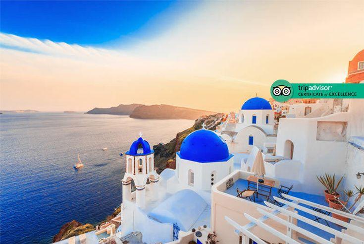 UK Holidays 2017 - Santorini Break, Flights & Breakfast - Optional Wine Tasting! for just: £139.00 Santorini Break, Flights & Breakfast - Optional Wine Tasting! BUY NOW for just £139.00