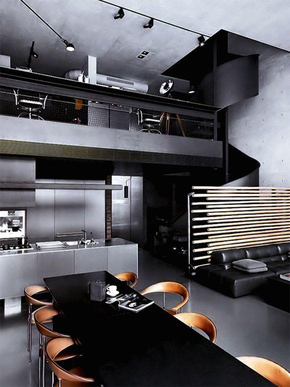decoração loft moderno