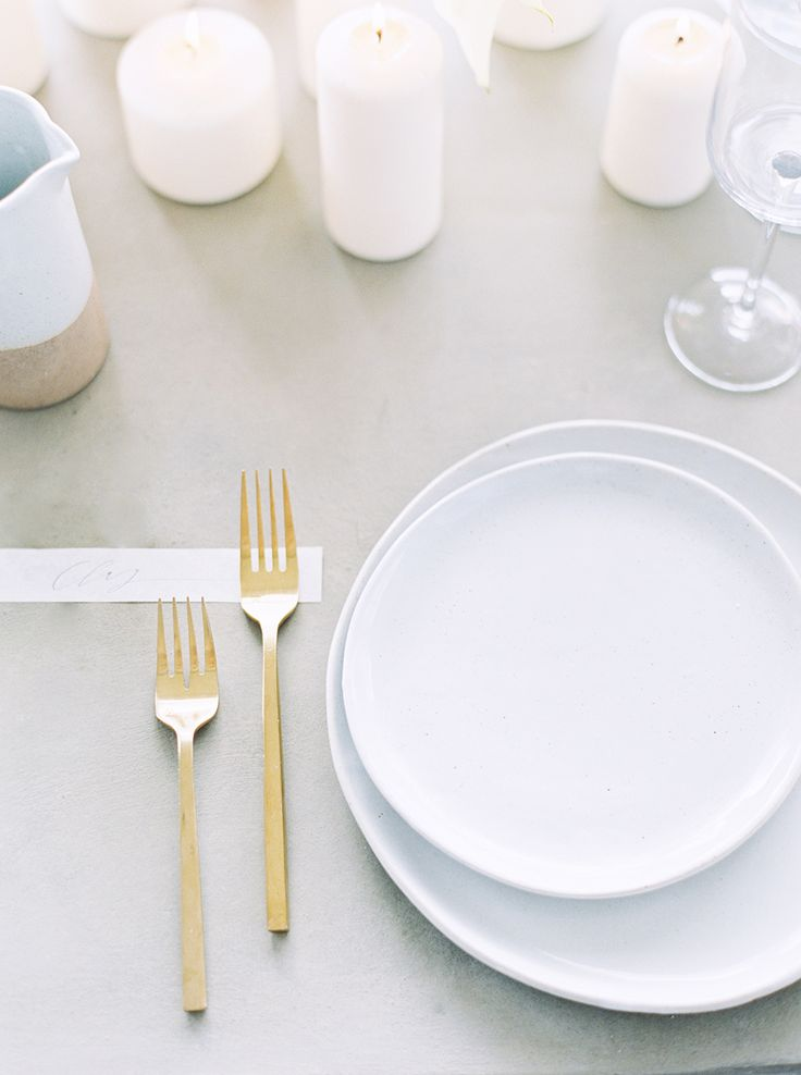 Minimalist Modern Wedding Inspiration - Once Wed