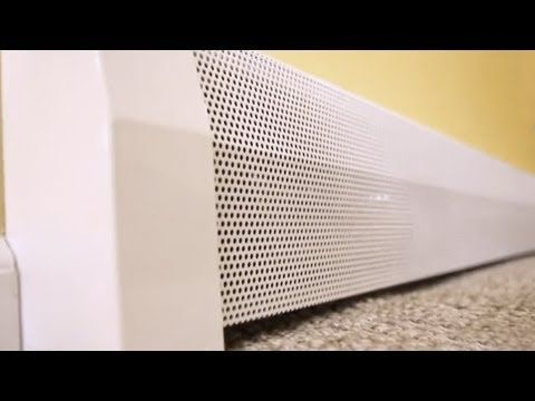 diy baseboard heater covers youtube