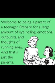 Quotes About Raising Teenagers | Raising Teenagers Quotes | Joy of having teenagers...wouldn't change ...