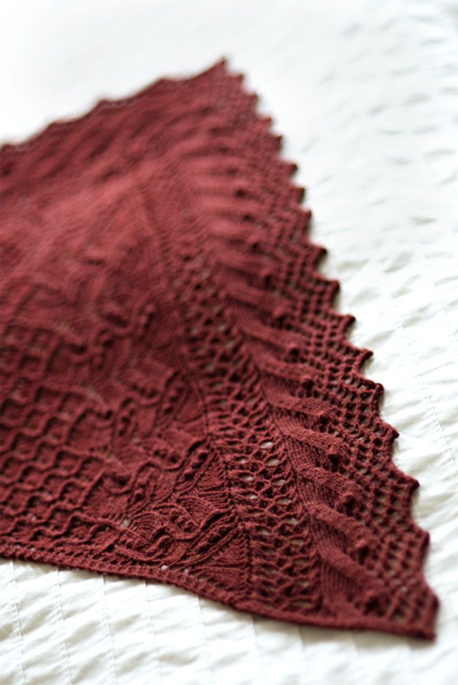 Juneberry Triangle from Brooklyn Tweed