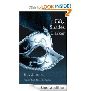 Book Review: Fifty Shades Darker: Book Two of the Fifty Shades Trilogy - Christian Grey and Ana Steele separated at the end of the last book.  They are in love, but can they be together.  Click through for the review