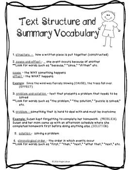 summary writing structure Summary is indispensable in preparing for and writing an argumentative essay when you summarize a text (or describe visual material), you distill the ideas of.