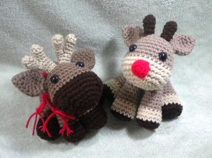 Amigurumi Crochet Diagram : Crochet Moose or Reindeer Amigurumi pattern by Stitched ...