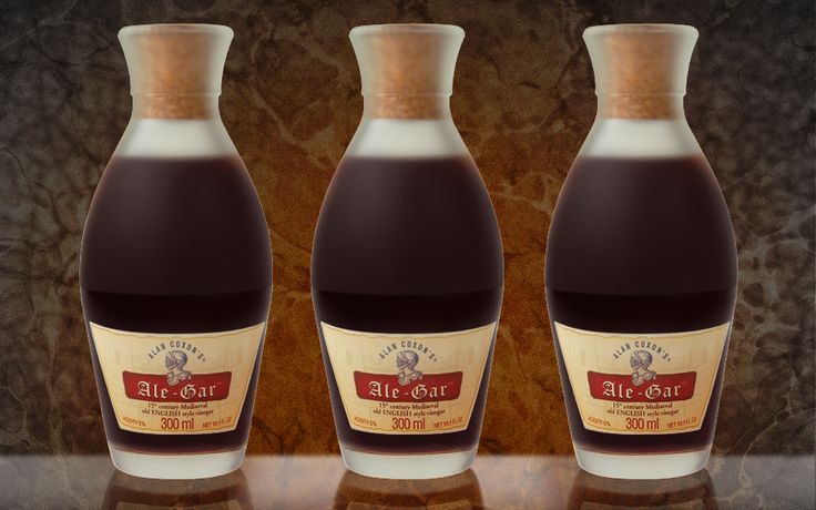 Ale-Gar, from food archeologist Alan Coxon, recreates old styles of vinegars, such as those used in ancient Rome and 15th century England.