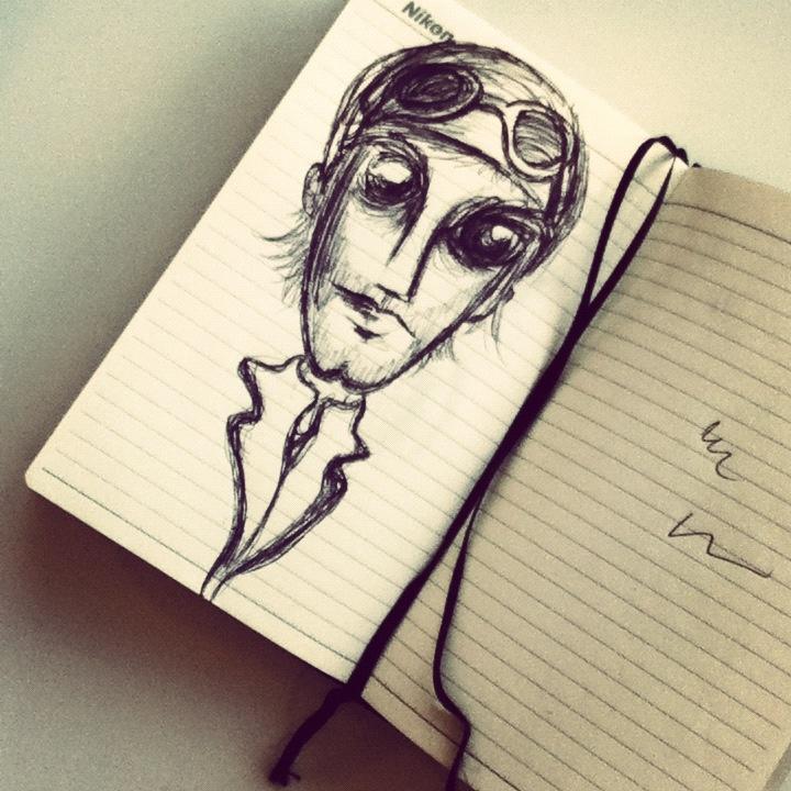 The Aviator by Zahira Zorrilla