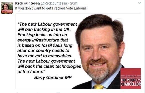 Barry Gardiner MP what a star