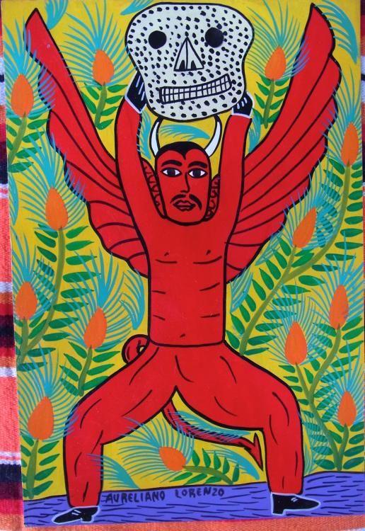 民芸品 アート ロレンソ - TOMBOLA トンボラ ~メキシコ雑貨、アニマリート&ルチャリブレ~