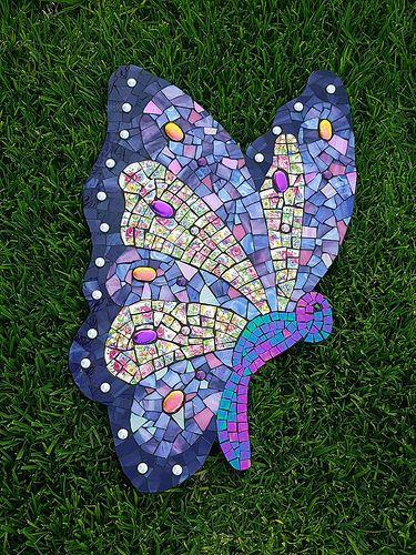 Rosa's Butterfly   Butterfly cut from marmox board, crockery…   Flickr