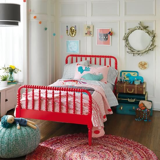 LOVE this whole room! The Pouf seat is perfect for bean's room- looks like a sea urchin! :)
