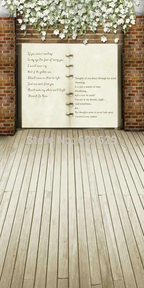 Любовные Письма 10'x20 'ср Компьютерная роспись Scenic Фотография Фон Фотостудия Фон S-292