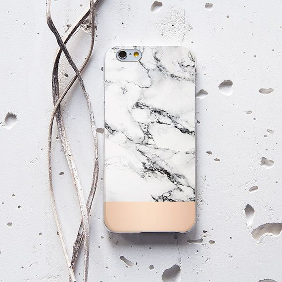 Marble iPhone Case White Marble Phone Case iPhone 6 by WolfCases