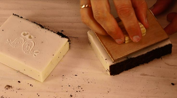 Jabón casero con aceite de coco