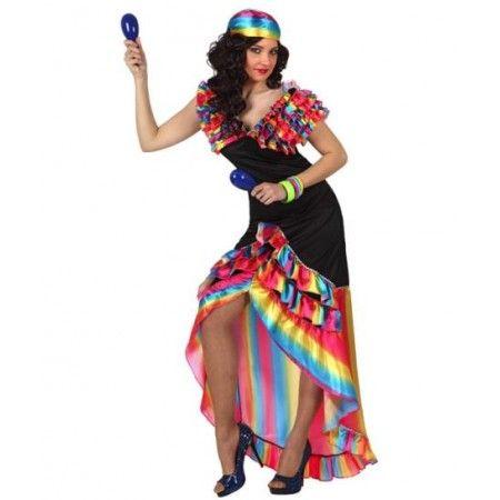 Disfraz de #Rumbera http://www.disfracessimon.com/disfraces-adultos/1996-disfraz-rumbera-p-1996.html