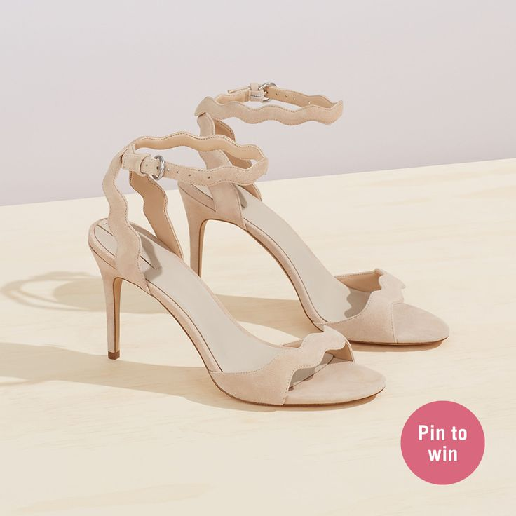 Inspired by I do: ALDO's dream wedding contest | Shop our CARINE sandals now & Click on the picture for the contest details!