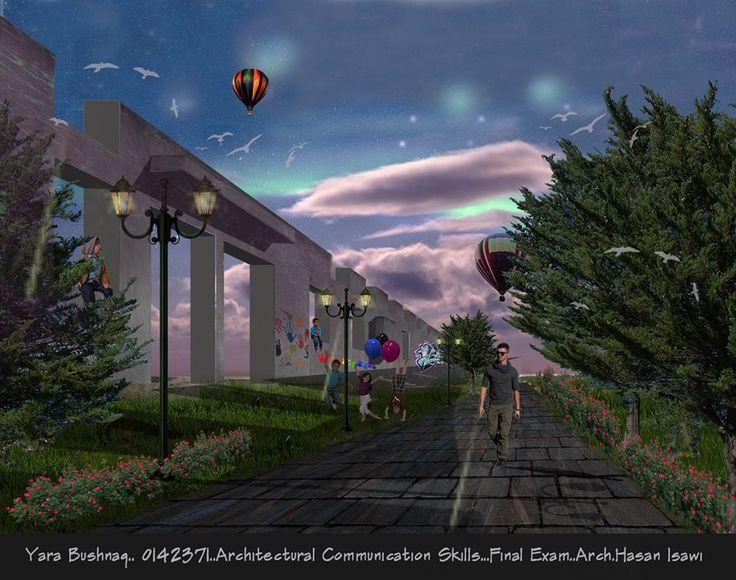 Yara BushnaqArchitectural Communication Skills- مهارات اتصال معماري
