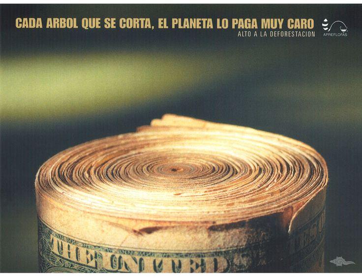 TítuloTronco  MedioRevista  PaísColombia  AgenciaDDB Colombia  InstituciónAsociación Protección Flora y Fauna Silvestre  Año2005
