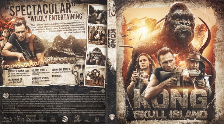 Kong: Skull Island Blu-ray Custom Cover