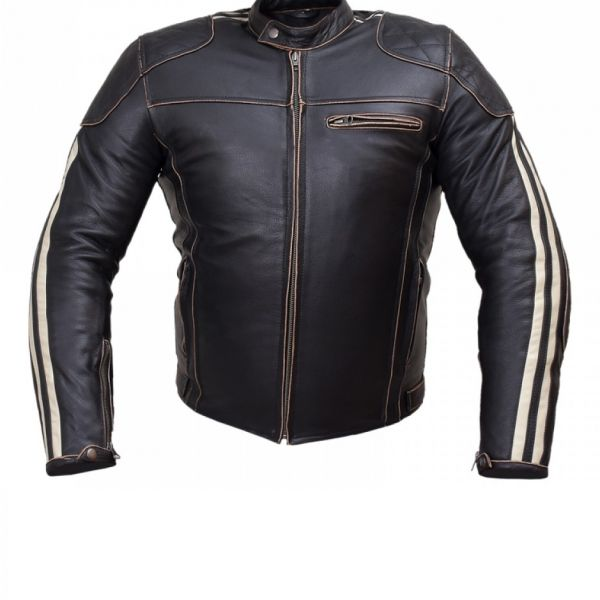 Arrow Men Motorbike Leather Jacket – 980980d – Arrow Shopping