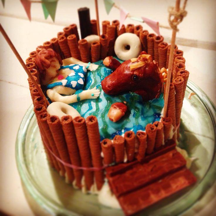 DIY cake Finnish palju
