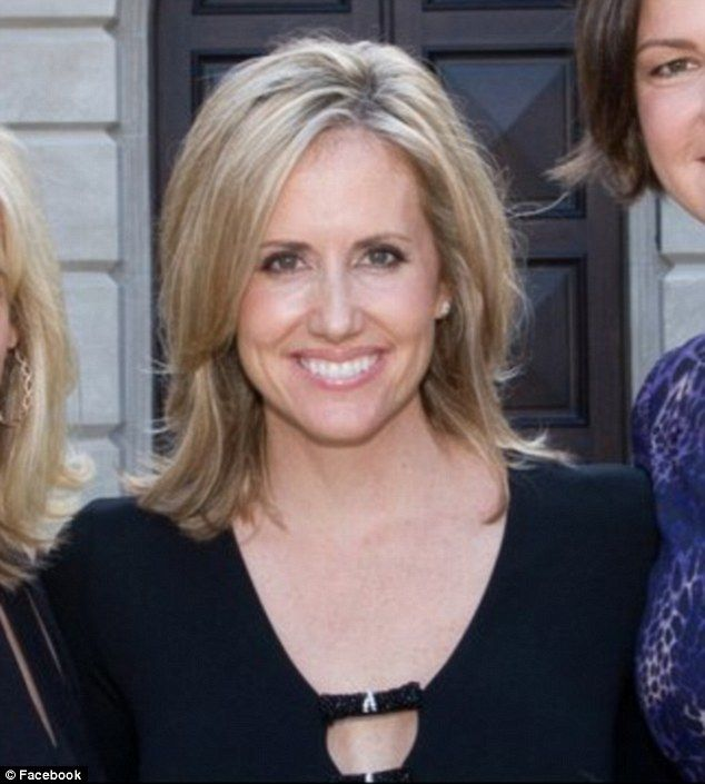 The other woman: Blonde tech executive Nicole McMackin, 43, began a secrert affair with David Beador, who has been married to Real Housewives of Orange County star Shannon for 14 years