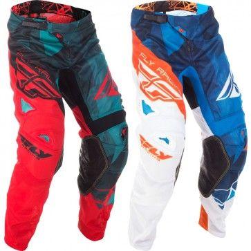 FLY Racing Kinetic Mesh Crux Motocross MX Dirt Bike Off-Road ATV Quad Pants