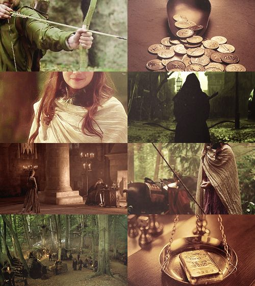 in the forests of Sherwood, there lives an outlaw brave and good